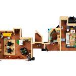 Lego Creator Expert - Mieszkania zserialu Przyjaciele 10292
